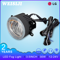 Newest and high quality Car Auto turning lamp 6000K /3000K 30W LED daytime running fog light