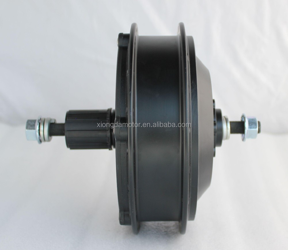 YTW-05 36V 48V 350W 500W electric bicycle rear hub motor with cassette base for 7~10 speed freewheel