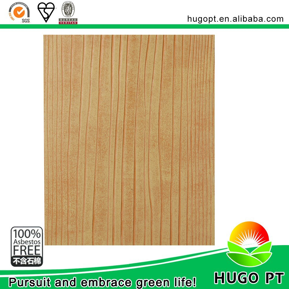 China Factory Calcium Silicate Solid Grain Acoustic Wood Wall Panel