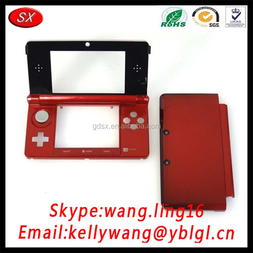Custom Aluminum 3D Selling Portable Handheld Aluminum Game Case, Full Housing Case