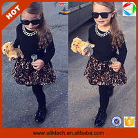 Free shipping cheap wholesale girls clothes childrens fashion 2015 (Ulik-A0288)