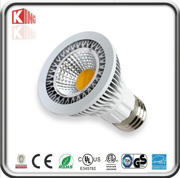 Best seller E27 UL 85-265v Epistar dimmable par20 led par light 9w