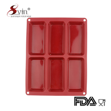 Heat Resistant Silicone Baking Used Molds for Cake Chocolate