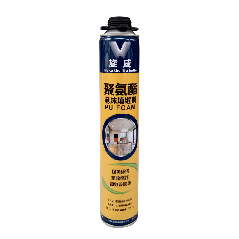 polyurethane foam barrel expansion PU pu foam sealant for model and sand production