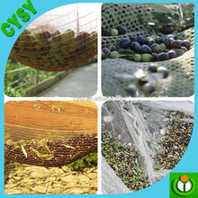 Best quality olive collecting net with UV protection net,plastic high tensile nuts harvest net,reinforced edges grommet pick net