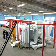 Steel Beam Types Automatic Painting Machine/Powder Coating Line