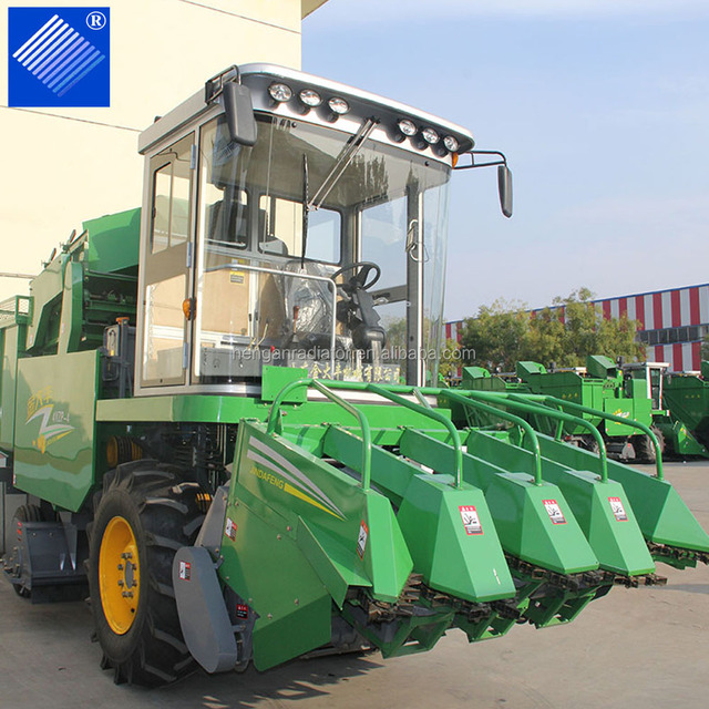 New Condition Agricultural machinery 4YZ-3A corn combine harvester