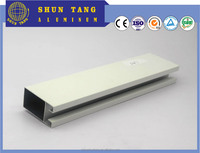 Nigeria Anodized silver Aluminum Window extruded Profiles