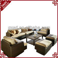 SD classic rattan indian bedroom furniture designs