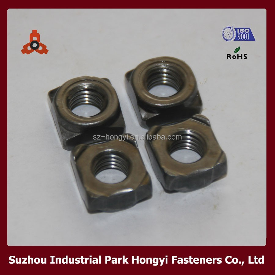 din 928 stainless steel jis square weld nuts for machine