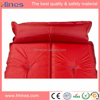 wholesale self-inflatable PVC mattress sleeping / play mats