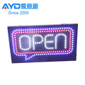 Outdoor Use Program LED Open Sign for Mobile Phone Accessories Shop