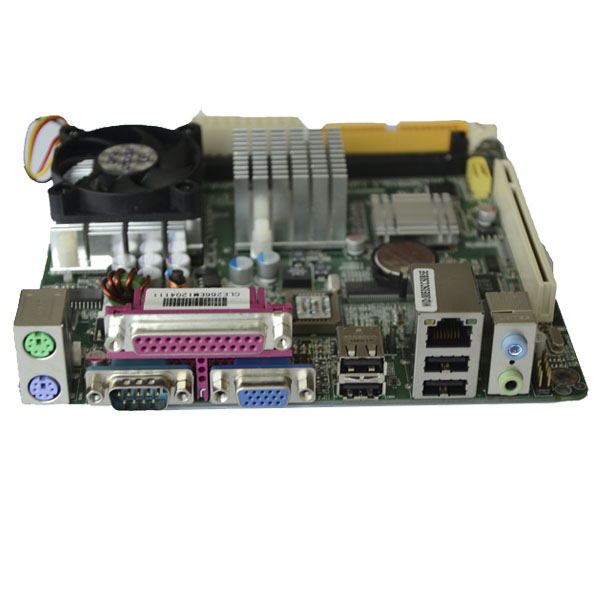 Embedded Industrial Motherboard With 2 x COM/6 x USB 2.0/1 x PS2 PCM5-CLE266