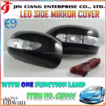 Promotion product LED SIDE MIRROR COVER FOR JAPAN TOYOTA NP10 PORTE