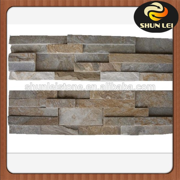 Chinese natural culture stone corner/slate culture stone tile