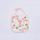 Well Designed lunch bibs cute waterproof baby bib cotton silicone for hot- selling