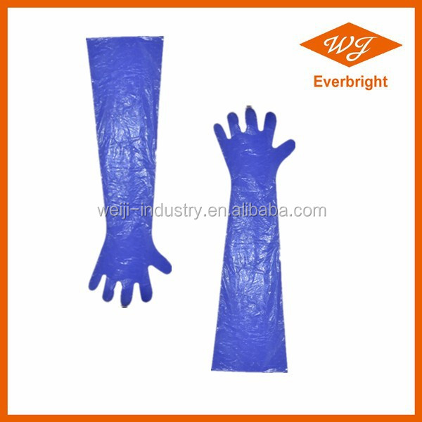 Plastic Gloves for Veterinary