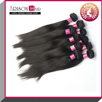 Natural Black Color Tangle Free Peruvian Straight Hair