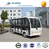 2014 Top Seller 23 seater electric tourist car with high quality