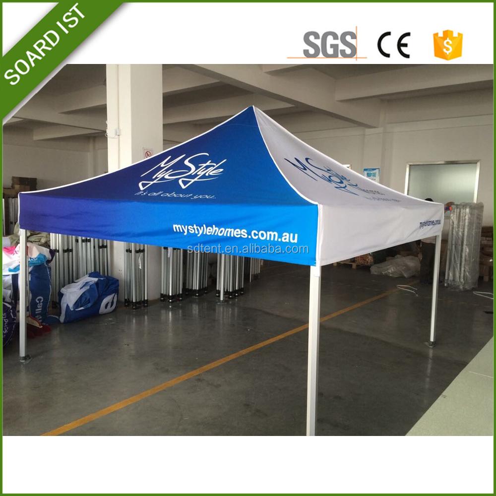Aluminum Folding Gazebo : Professional trade show aluminum folding tent gazebo pop