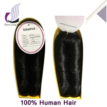 100% Human Hair Afro Hairstyle Machine Weft 27 29 Piece Human Hair Weave