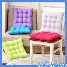 2016 hot selling pure color cotton polyester cushion chair cushion home office cushion MHo-166