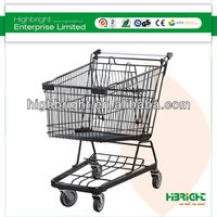Retail australia style ganny shopping trolley with seat