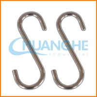 Made in china s shaped double sided snap hook