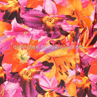high quality fabric printed swimsuit fabric for wholesale