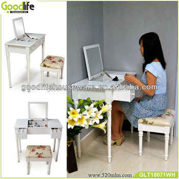 Women dressing table Chinese furniture antique french bedside tables