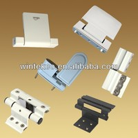 Heavey Duty Cabinet Zinc PVC Plastic Door 3D Aluminum Window Hinges for Folding doors