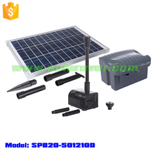 DC pump with brushless motor plus solar panel for solar fountain (SPB20-501210D)