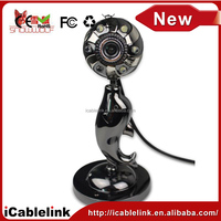 6 LED usb camera with MIC, Webcam Camera for pc desktop laptop(Z4)