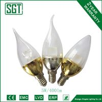 led lamps 5w 400lm E14 on sale