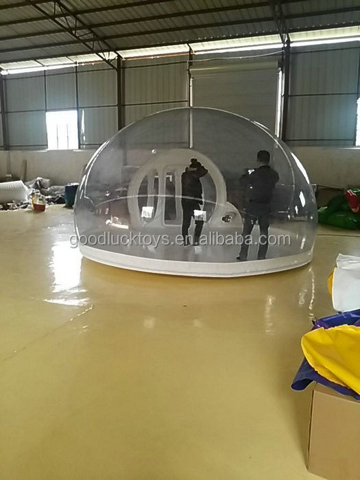2015 giant inflatable bubble tent for event / inflatable transparent tent/ inflatable greenhouse