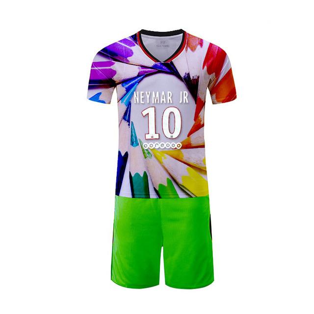Customized soccer uniform breathable jersey custom team uniforms football Apparel