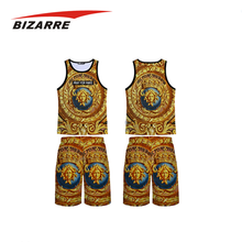 Full sublimation european cheap basketball uniforms design
