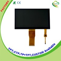 "High resolution 800x480 pixels lcd screen 7.0"" touch panel"