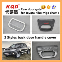 car chrome accessories for hilux 2016 plastic rear door handle cover back handle toyota hilux body kit for vigo champ parts