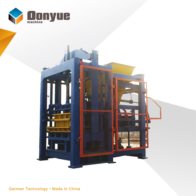 QT6-15B automatically coal ash brick making machine