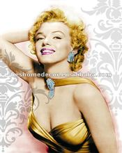 Marilyn Monroe indian nude painting,fabric painting designs