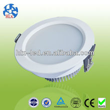 high luminous flux 9w 750lm led DownLight With high CRI(Ra)>80