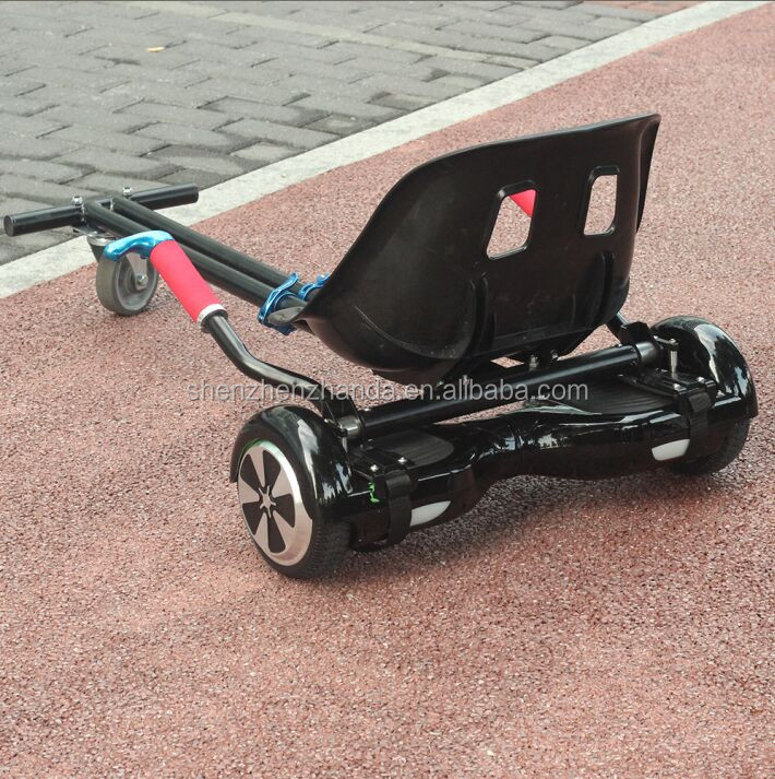China hoverkart two wheel balance scooter with seat mobility scooter
