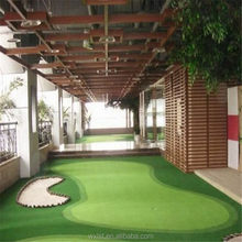 Low price latest artificial turf golf swing mat