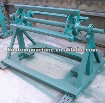 High speed steel sheet manual uncoiler