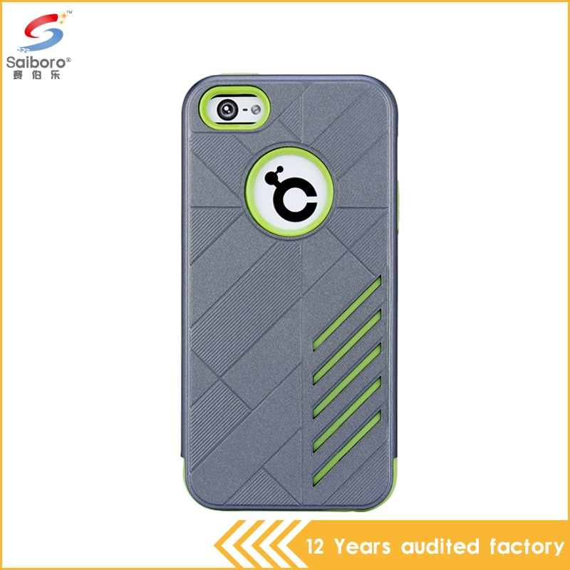 High quality cheap wholesale shockproof top for iphone 5c cases