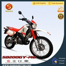 2 LED Light 200CC Dirt Bike in China SD200GY-14B