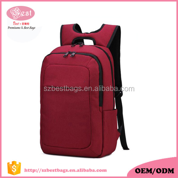 High quality waterproof nylon 15 15.6 17 19 inch ibm/hp/acer notebook computer laptop backpack