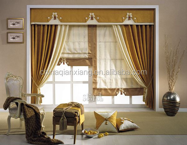 interior decoration modern fabric house curtain