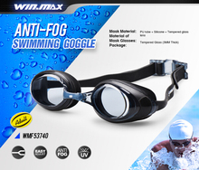 2017 New Arrival UV resistance Excellent Silicone Anti Fog Swimming Goggle